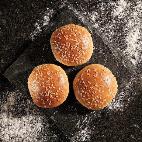 Seeded Brioche Burger Buns